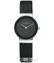 Skagen Leather Classic 358SSLB